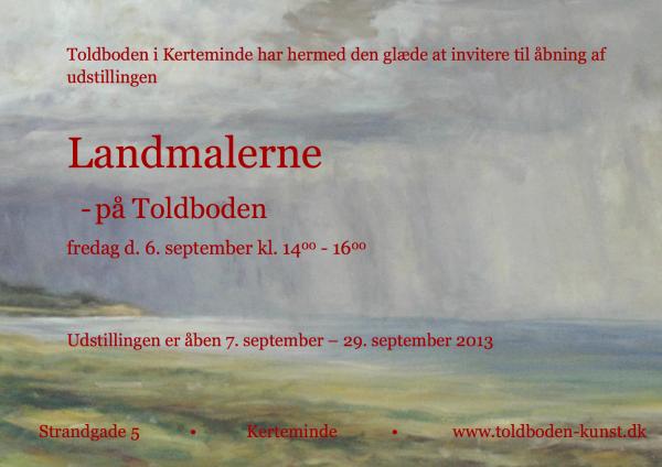 landmalerne toldboden færdig invitation